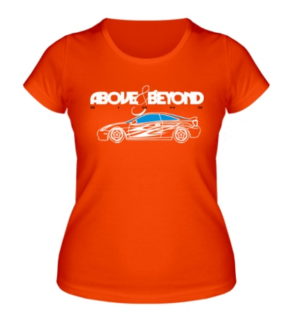 Женская футболка Above & Beyond Signs