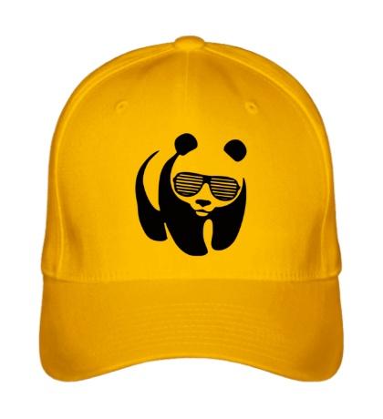 Бейсболка Панда в очках