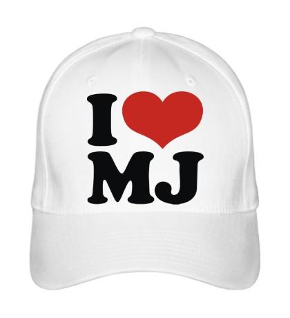 Бейсболка I Love MJ