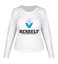 Женский лонгслив Renault Logo