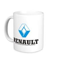 Керамическая кружка Renault Logo