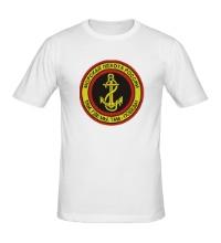 Мужская футболка Морская пехота России