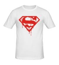Мужская футболка Кровавый супермен