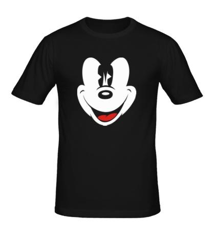 Мужская футболка Лицо Микки Мауса