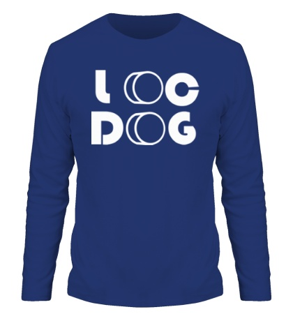 Мужской лонгслив Loc Dog