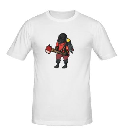 Мужская футболка TF2: Pyro Comics