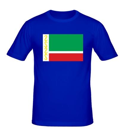 Мужская футболка Флаг Чечни