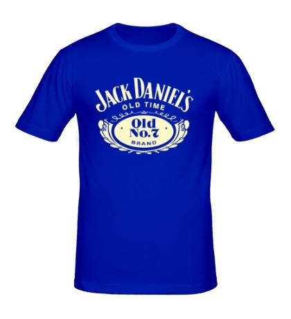 Мужская футболка Jack Daniels: Old Time Glow