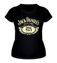 Женская футболка Jack Daniels: Old Time Glow