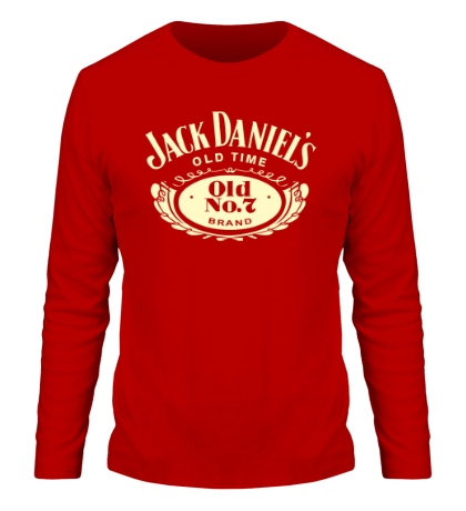 Мужской лонгслив Jack Daniels: Old Time Glow