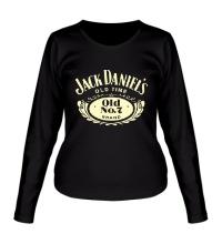Женский лонгслив Jack Daniels: Old Time Glow