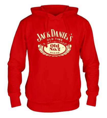 Толстовка с капюшоном Jack Daniels: Old Time Glow