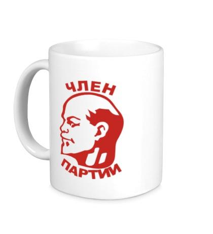 Керамическая кружка Член партии