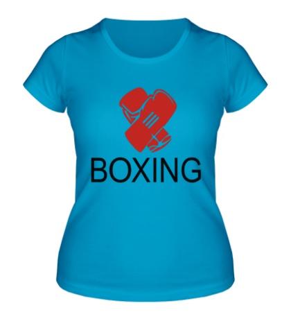 Женская футболка Boxing