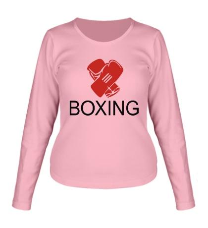 Женский лонгслив Boxing