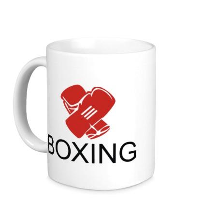 Керамическая кружка Boxing