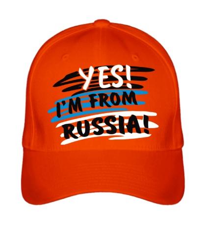 Бейсболка I am from Russia