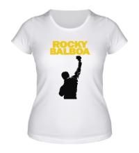 Женская футболка Rocky Balboa