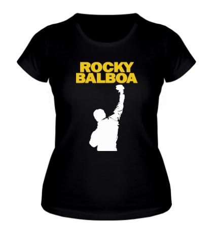 Женская футболка «Rocky Balboa»