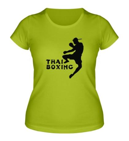 Женская футболка Thai Boxing