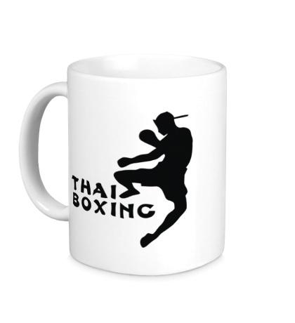 Керамическая кружка Thai Boxing