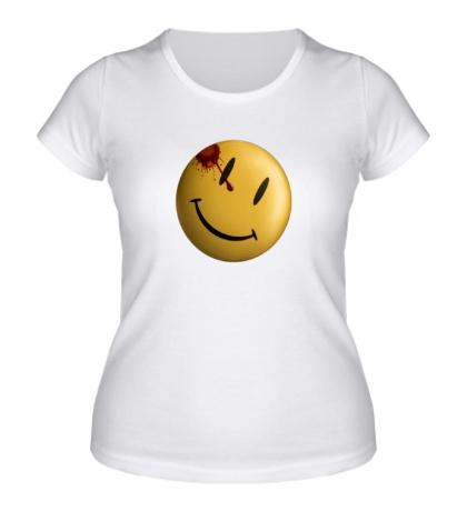 Женская футболка Хранители, Смайлик