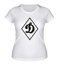 Женская футболка Dinamo