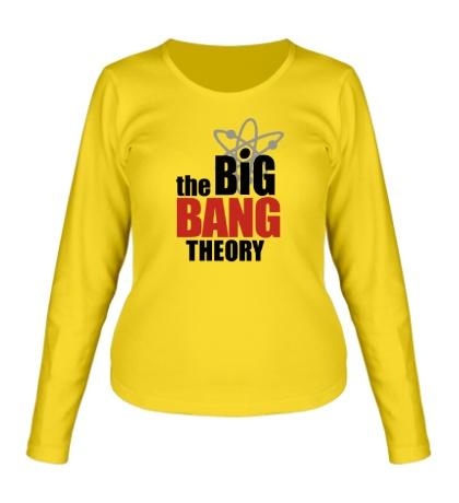 Женский лонгслив The Big Bang Theory