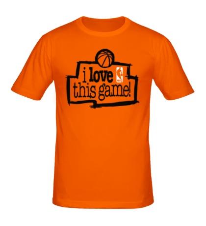 Мужская футболка NBA I love this game
