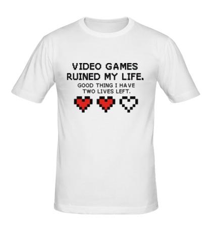 Мужская футболка 8-bit video games