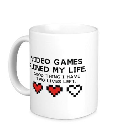 Керамическая кружка 8-bit video games