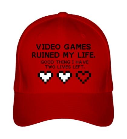 Бейсболка 8-bit video games