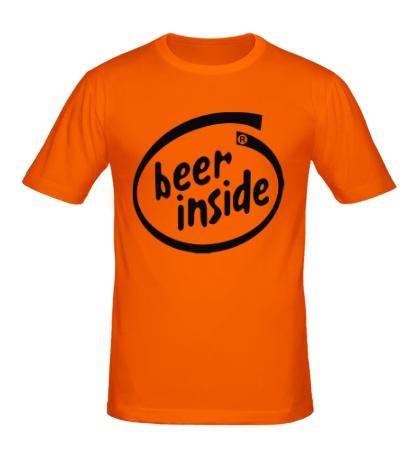 Мужская футболка Beer inside