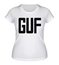Женская футболка GUF