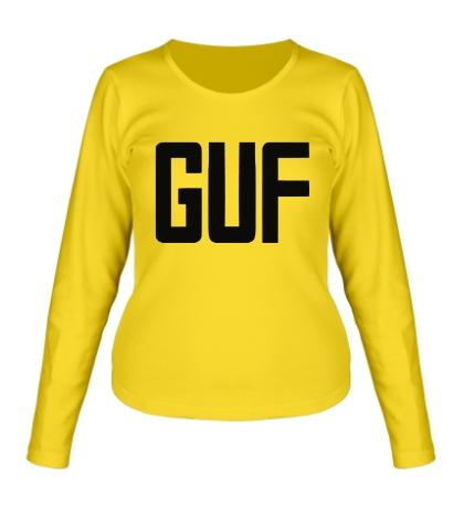 Женский лонгслив GUF