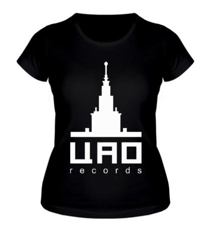 Женская футболка ЦАО records