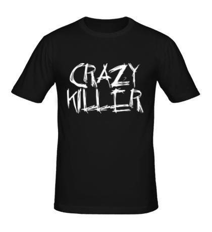 Мужская футболка Crazy Killer