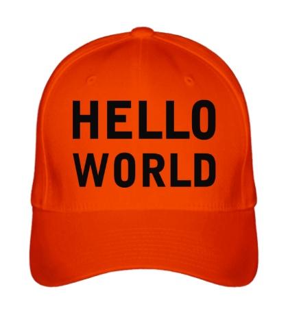 Бейсболка Hello World