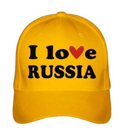 Бейсболка Love Russia