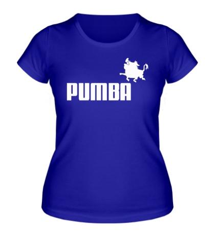 Женская футболка Pumba
