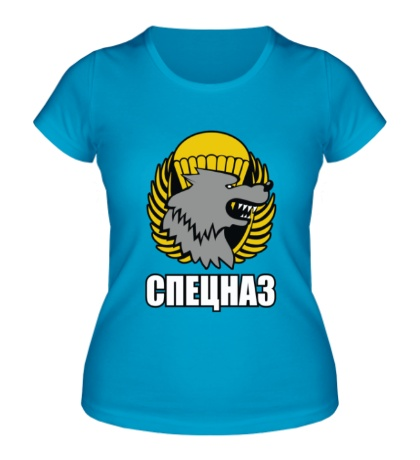 Женская футболка Спецназ ВДВ