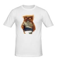 Мужская футболка Лохматая сова