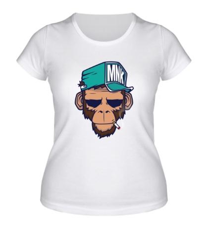Женская футболка Обезьяна MNK Crew