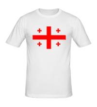 Мужская футболка Флаг Грузии