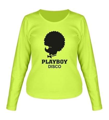 Женский лонгслив PlayBoy Disco