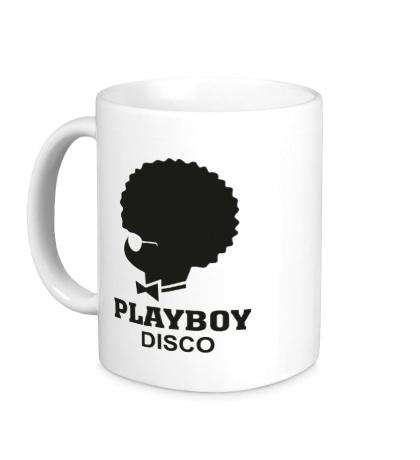 Керамическая кружка PlayBoy Disco