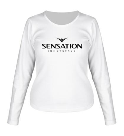 Женский лонгслив Sensation: Innerspace