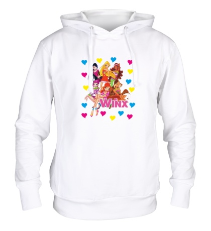 Толстовка с капюшоном Winx Love