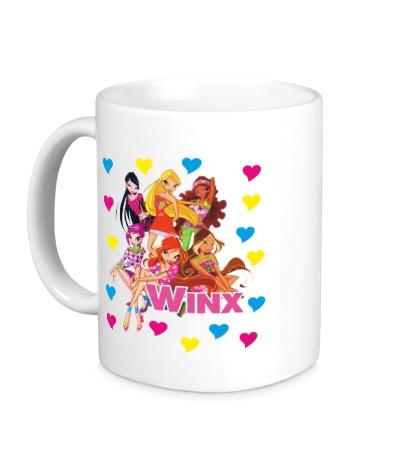 Керамическая кружка Winx Love