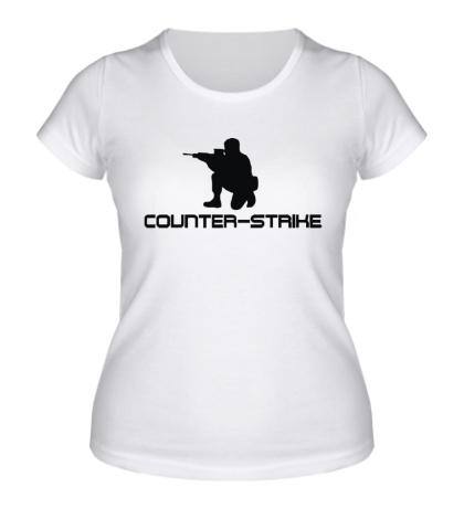 Женская футболка Counter-Strike Solider